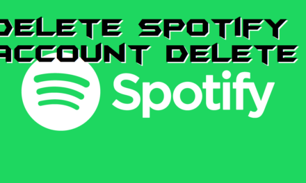 How to Delete Spotify Account-Step by Step
